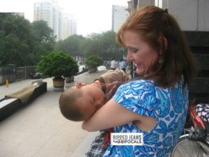 Me & Doodlebug, Shanxi Province, China. August 2012